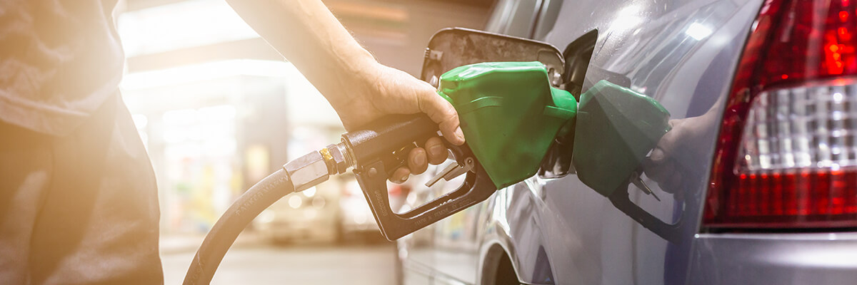 Filling Up Car